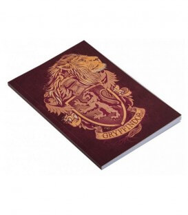 Carnet Gryffondor 128 pages Harry Potter