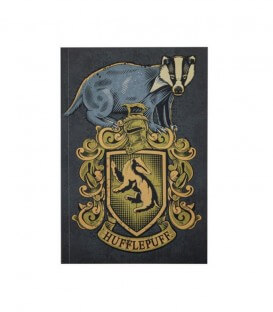 Hufflepuff Notebook 128 pages-Harry Potter