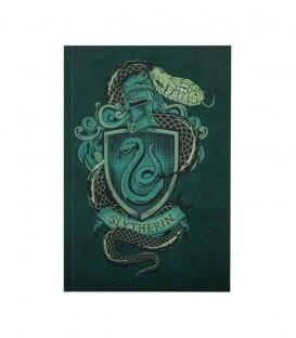 Slytherin Notebook 128 pages-Harry Potter