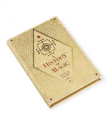 Carnet Journal A History of Magic,  Harry Potter, Boutique Harry Potter, The Wizard's Shop