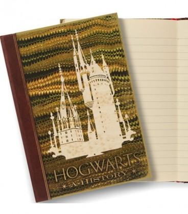 Carnet Journal Hogwarts : A History,  Harry Potter, Boutique Harry Potter, The Wizard's Shop