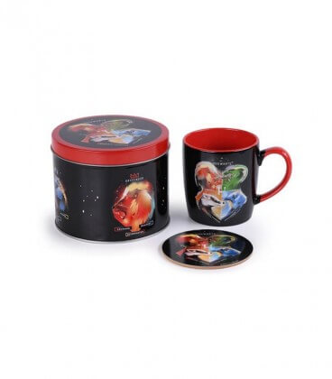 Set de Tasse et Sous Tasse en Boîte Métal - Poudlard,  Harry Potter, Boutique Harry Potter, The Wizard's Shop