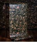 Black family tapestry wallpaper