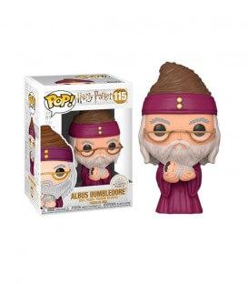 POP! Albus Dumbledore with baby Harry Figure N°115
