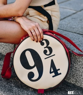 Harry Potter Hogwart Express 9 3/4 Circular Satchel Bag