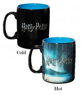 Grand Mug Expecto Patronum Thermoréactif,  Harry Potter, Boutique Harry Potter, The Wizard's Shop