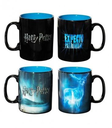 Grand Mug Expecto Patronum Thermoréactif,  Harry Potter, Boutique Harry Potter, The Wizard's Shop