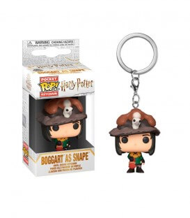 Mini POP! Porte-clés Épouvantard/Severus Rogue
