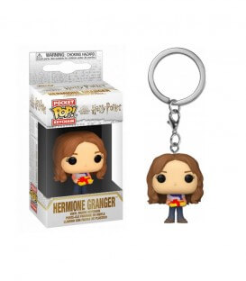 Mini POP! Porte-clés-Hermione Granger Holiday