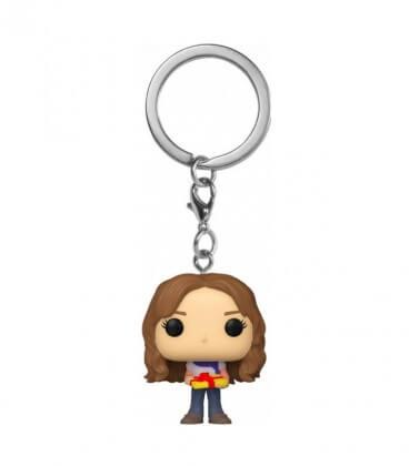 Mini POP! Porte-clés-Hermione Granger Holiday,  Harry Potter, Boutique Harry Potter, The Wizard's Shop