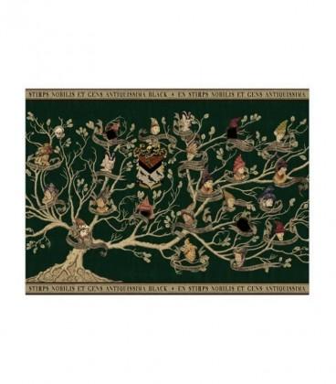 Black Family Tapestry Poster