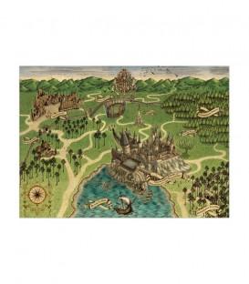 Poster Carte de Poudlard,  Harry Potter, Boutique Harry Potter, The Wizard's Shop