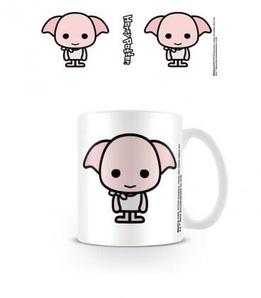 Mug Dobby Chibi,  Harry Potter, Boutique Harry Potter, The Wizard's Shop
