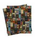 Papier Cadeau - Couvertures de livres harry potter