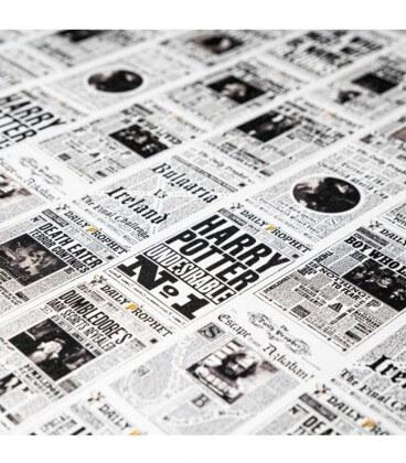 Papier Cadeau The Daily Prophet,  Harry Potter, Boutique Harry Potter, The Wizard's Shop