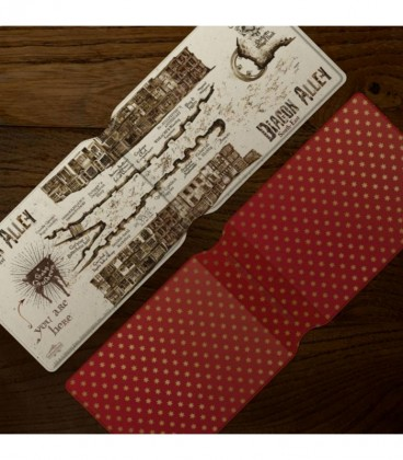 Card Holder - Diagon Alley Map