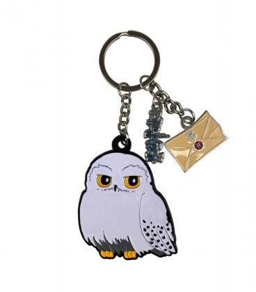 Porte-clés Hedwige,  Harry Potter, Boutique Harry Potter, The Wizard's Shop