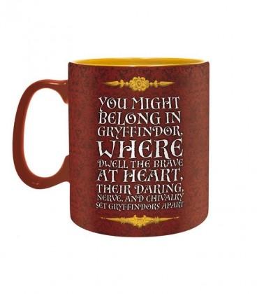 Grand Mug Gryffondor,  Harry Potter, Boutique Harry Potter, The Wizard's Shop