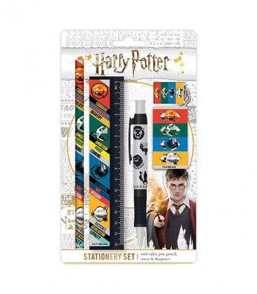Set de Papeterie 4 Maisons,  Harry Potter, Boutique Harry Potter, The Wizard's Shop
