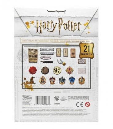 Set de 21 Aimants Harry Potter,  Harry Potter, Boutique Harry Potter, The Wizard's Shop