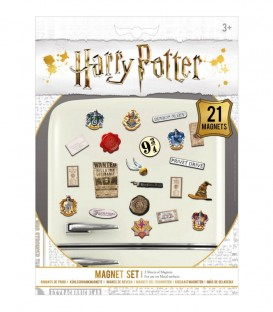 Set de 21 Aimants Harry Potter,  Harry Potter, Boutique Harry Potter, The Wizard's Shop
