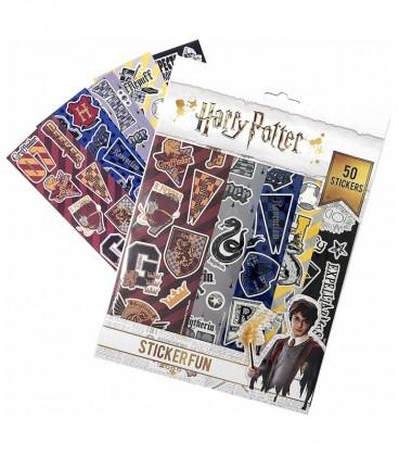 Plaquettes de 50 stickers Maisons Poudlard,  Harry Potter, Boutique Harry Potter, The Wizard's Shop