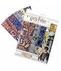 Plaquettes de 50 stickers Maisons Poudlard