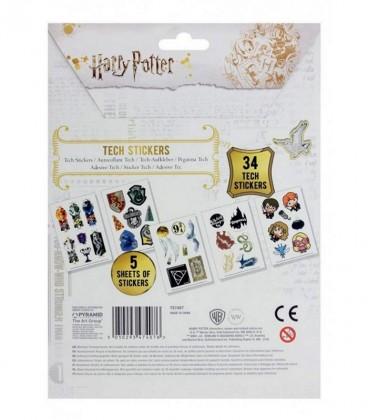 Plaquettes de 34 Stickers Kawaii,  Harry Potter, Boutique Harry Potter, The Wizard's Shop