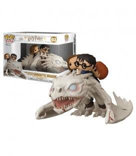 Figurine POP! N°93 Harry, Hermione & Ron sur le dragon Ukrainien