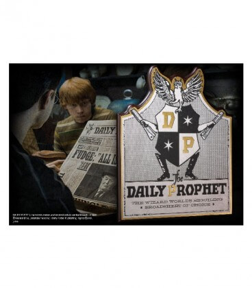 Daily Prophet Wall Plaque