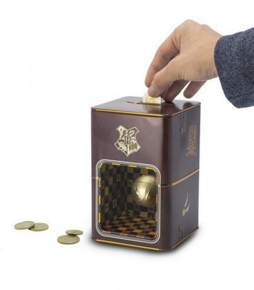 Floating Golden Snitch Money Bank