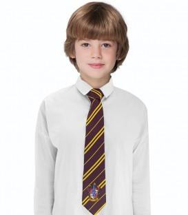Cravate Enfant Gryffondor Logo Tissé,  Harry Potter, Boutique Harry Potter, The Wizard's Shop