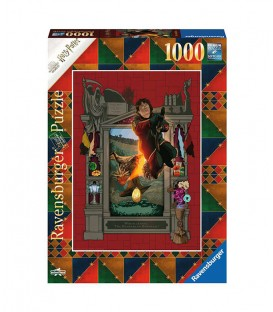 """""""Harry Potter & The Gobelet of Fire """" Puzzle 1000 pieces by Minalima"""
