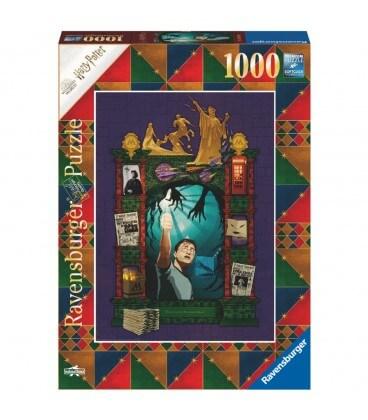 """Puzzle """" Harry Potter et l'Ordre du Phoénix"""" 1000 pièces par Minalima,  Harry Potter, Boutique Harry Potter, The Wizard's Shop"""