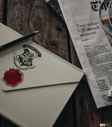 Carnet magnetique A5 Harry Potter Lettre de Poudlard,  Harry Potter, Boutique Harry Potter, The Wizard's Shop