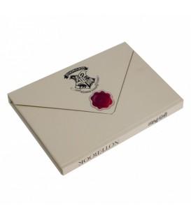 Carnet magnetique A5 Harry Potter Lettre de Poudlard