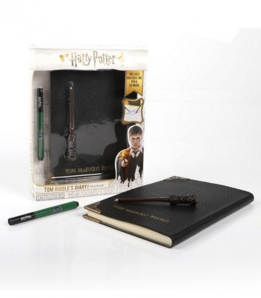 Journal de Tom Jedusor Baguette & Stylo Invisible