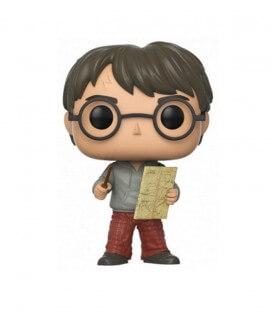 Figurine POP! N°42 Harry Potter avec la Carte du Maraudeur
