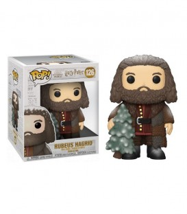 Figurine POP! N°126 Hagrid Holiday Sapin,  Harry Potter, Boutique Harry Potter, The Wizard's Shop