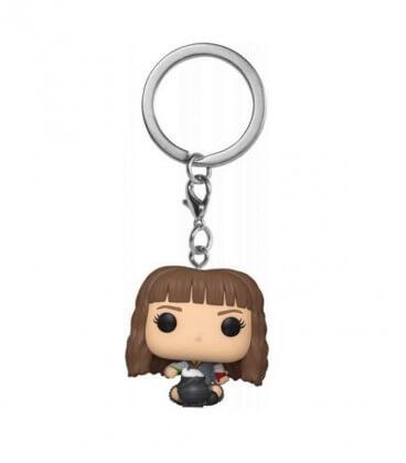 Mini POP! Porte-clés Hermione avec Chaudron