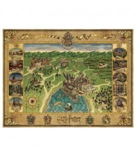 Puzzle Harry Potter Hogwarts Map 1500 pieces Minalima