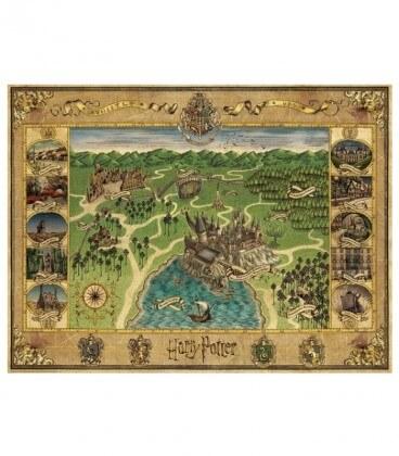 Puzzle Harry Potter Carte de Poudlard 1500 pièces Minalima,  Harry Potter, Boutique Harry Potter, The Wizard's Shop