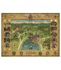 Puzzle Harry Potter Carte de Poudlard 1500 pièces Minalima