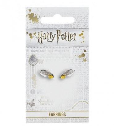 Golden Snitch Stud Earrings