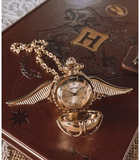 Collier montre Vif d'or,  Harry Potter, Boutique Harry Potter, The Wizard's Shop
