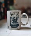 Mug Sirius Black Wanted Effet Thermique