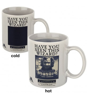 Mug Sirius Black Wanted Effet Thermique,  Harry Potter, Boutique Harry Potter, The Wizard's Shop