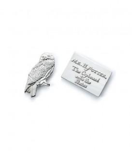 Pin's Hedwige et lettre Harry Potter