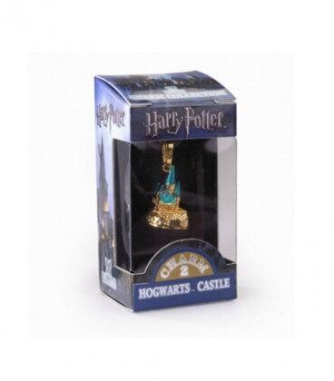 Charm Lumos Poudlard doré N°2,  Harry Potter, Boutique Harry Potter, The Wizard's Shop