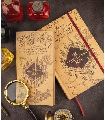 Carnet et Petite Carte du Maraudeur Harry Potter,  Harry Potter, Boutique Harry Potter, The Wizard's Shop